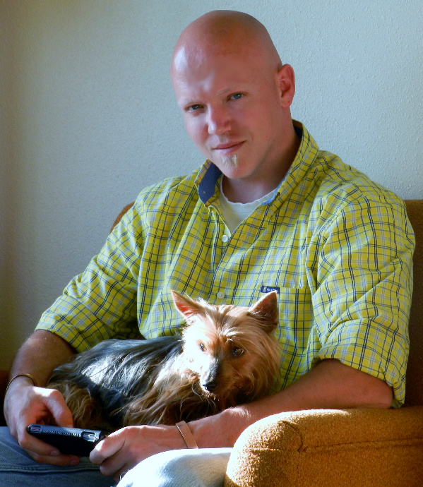 "My hubby and his ""Lucy"" girl"